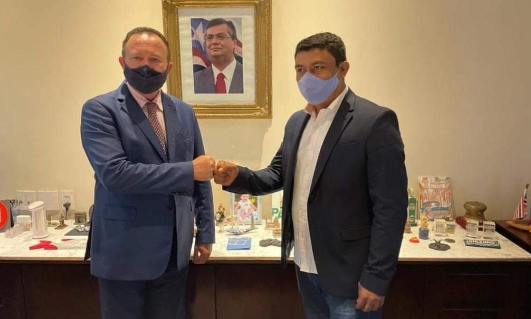 Prefeito de Porto Rico Aldo Brown, reúne-se com governador em exercício Carlos Brandão e garante benefícios para o município, veja