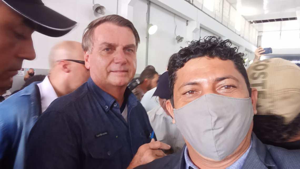 Vereador Joeds Luís acompanha cerimônia de entrega de títulos de propriedade de terras em Alcântara, realizada pelo presidente Jair Bolsonaro