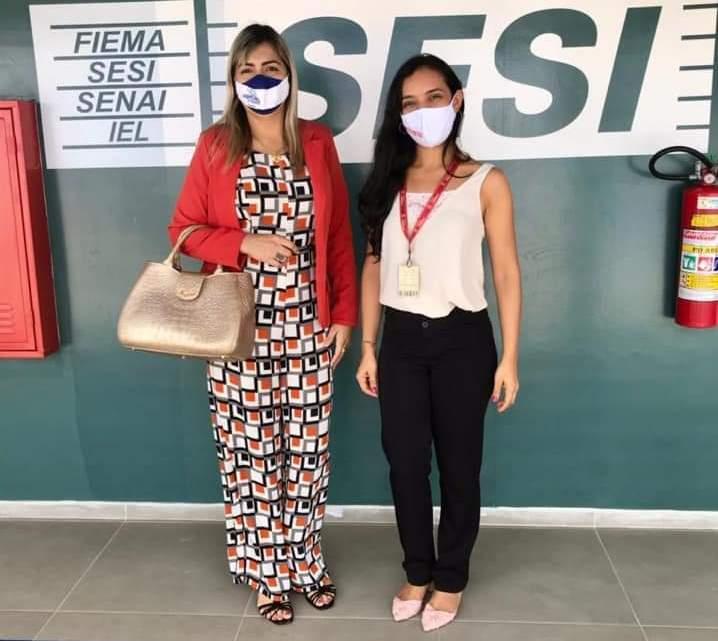 Primeira dama de Porto Rico do Maranhão Jaqueline Luz, ajuda gestão Municipal na busca de importantes benefícios para a população