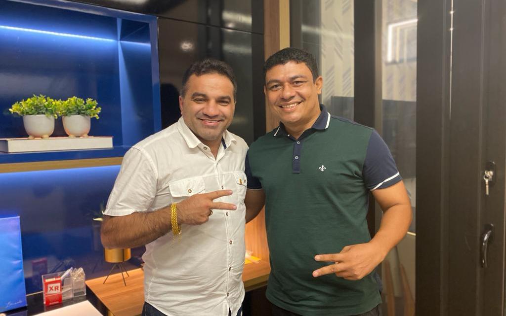 Prefeito Aldo Brown reúne-se com deputado Federal Josimar Maranhãozinho, e grandes investimentos são anunciados para Porto Rico do Maranhão