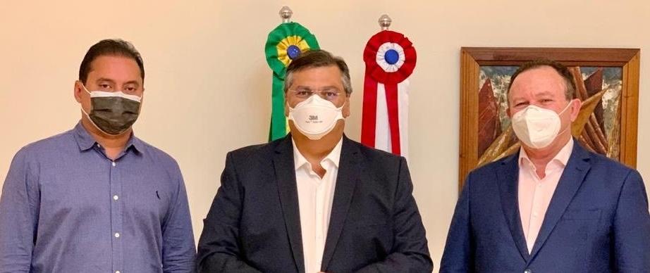 Na reunião com Brandão e Weverton, Dino deixou claro que seu candidato não será escolhido por pesquisa