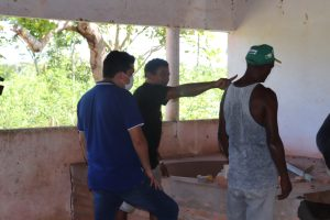 Pinheiro – Vereador Felipe de Chicão e comunidade se unem para recuperar casa de farinha no Pólo Santo Antônio dos Carvalhos
