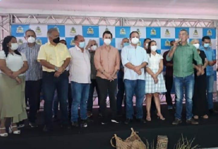 Deputado Estadual Dr. Leonardo Sá, cumpre agenda com o vice-governador Carlos Brandão em Viana