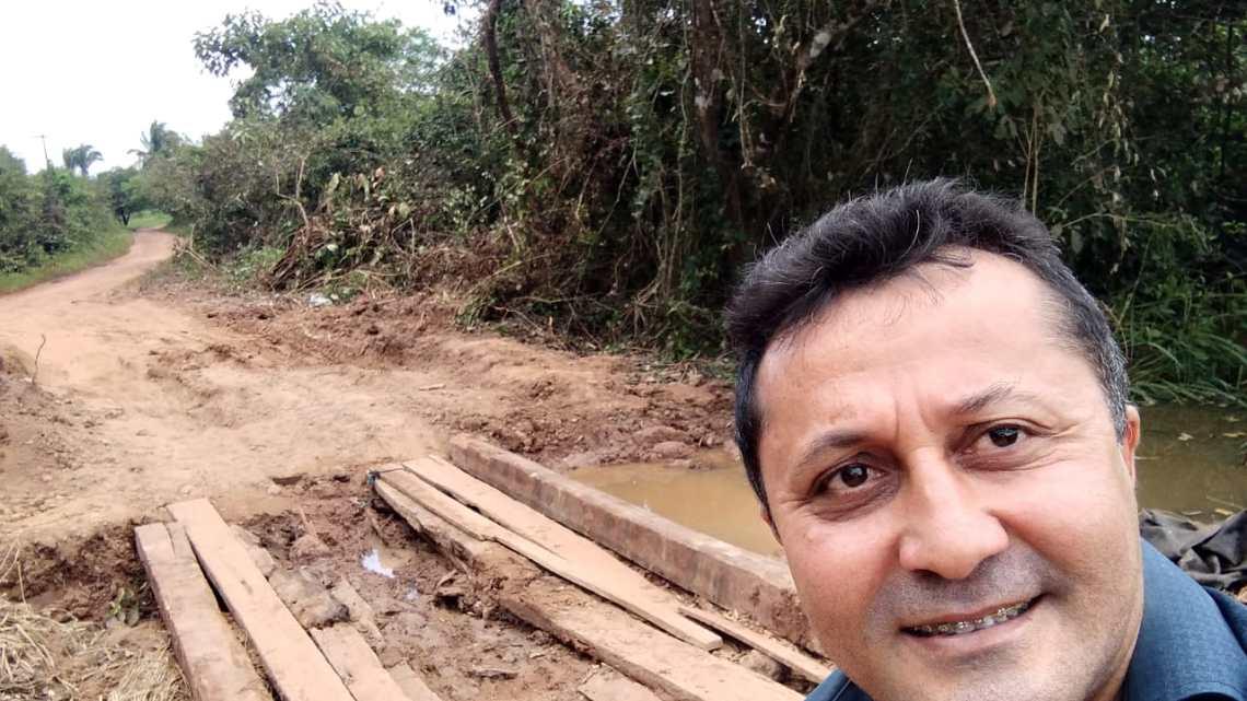 Pinheiro – Vereador Riba do Bom Viver denuncia precariedade nas estradas vicinais do polo São Caetano e região da chapada