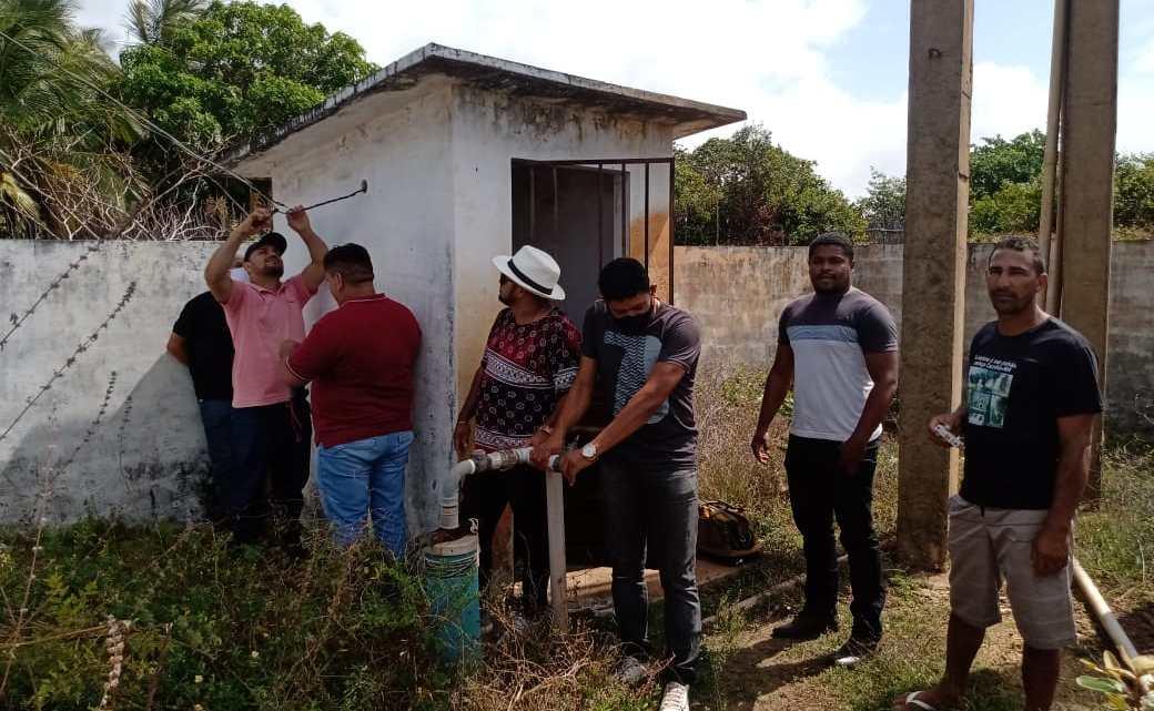Alcântara – Vereadores visitam povoado Ponta de Areia, detectam problema no sistema de abastecimento d'água, e tomam rápidas providências junto à gestão Municipal