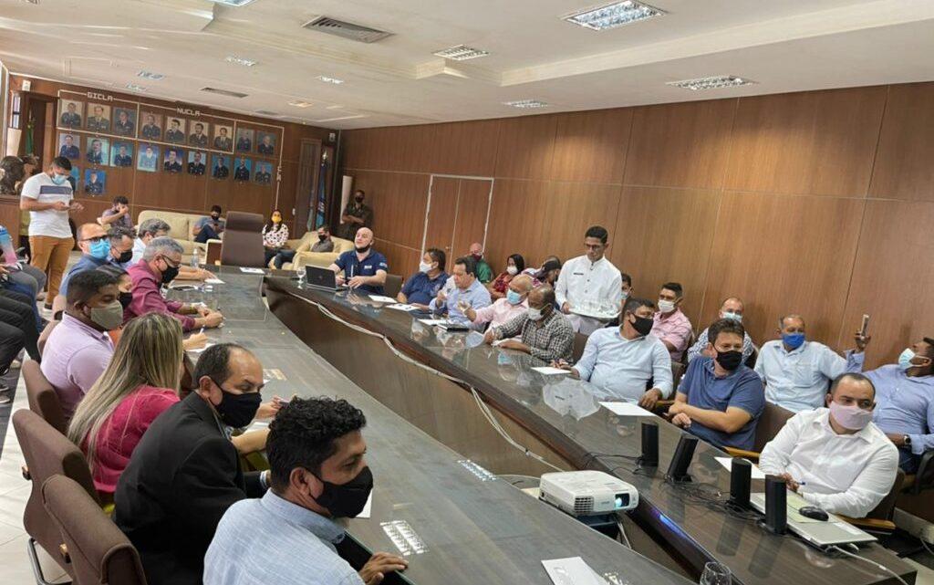 Em Alcântara vereadores participam de reunião no CLA, para tratar do plano diretor da península e turismo do Município