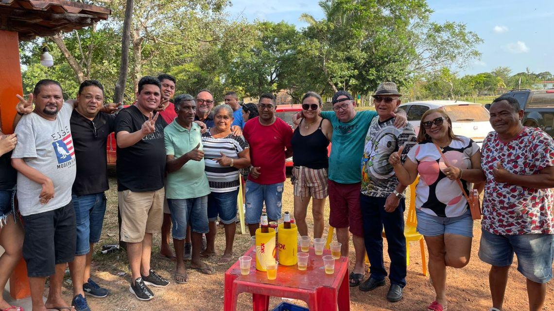 Vereador Felipe de Chicão, cumpre mais uma extensa agenda na zona rural de Pinheiro durante final de semana