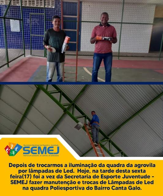 Prefeita Fechinha apoia e faz revolução no esporte de Central do Maranhão
