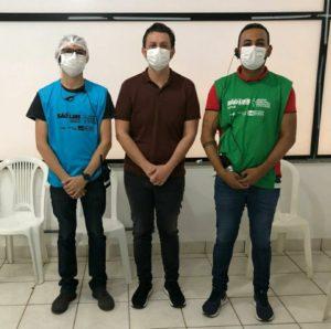 Deputado Dr Leonardo Sá, toma a segunda dose da vacina contra covid-19