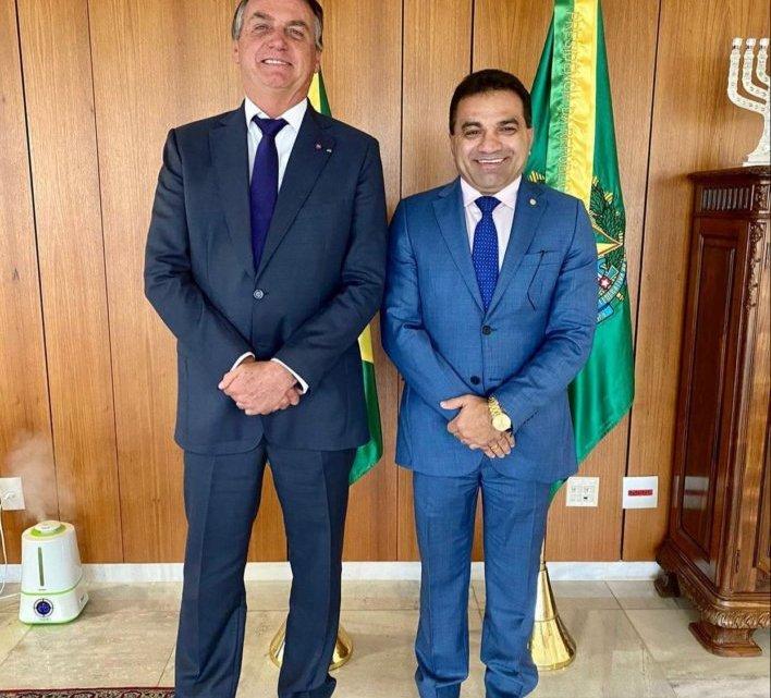 Josimar é convidado para reunião com Bolsonaro no palácio do Planalto