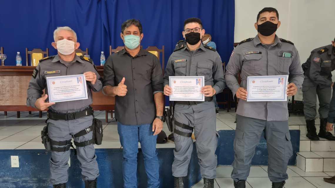 10º Batalhão realiza formatura geral e conta com presença de autoridades da região da Baixada Maranhense
