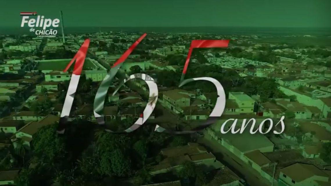 Homenagem do vereador Felipe de Chicão pelos 165 anos do Município de Pinheiro