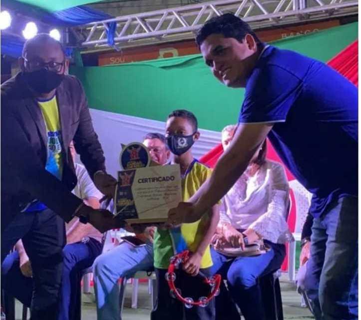 Vereador Felipe de Chicão participa do 10º Festival de Bandas e Fanfarras em Pinheiro