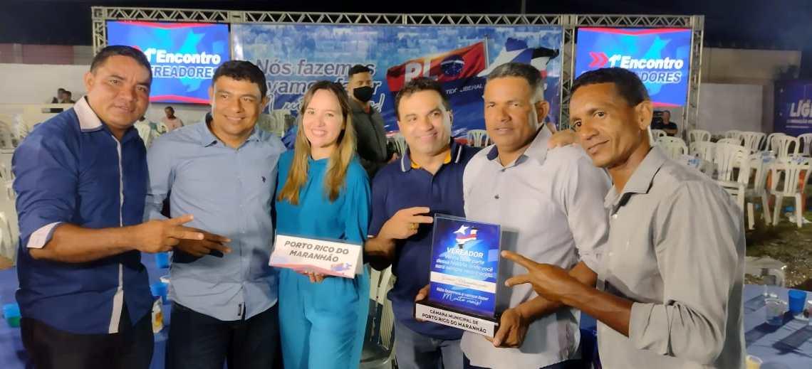 Em apoio à pré-candidatura de Josimar Maranhãozinho, prefeito e vereadores de Porto Rico participam de grande encontro do PL em Bacabal