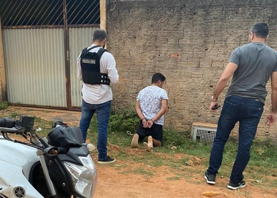 Urgente – Terceiro acusado de matar vigilantes em Vitória do Mearim, é preso em Paço do Lumiar