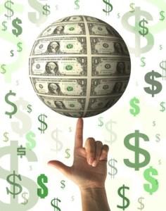 dedo e dinheiro