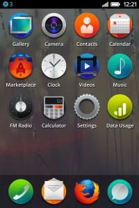 Smartphone Firefox