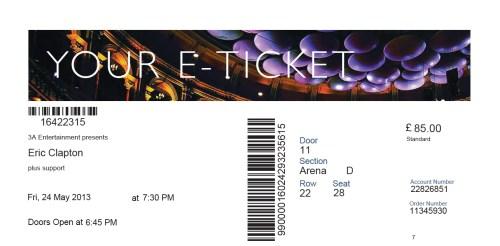 EC Ticket