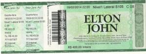 Elton John Ticket
