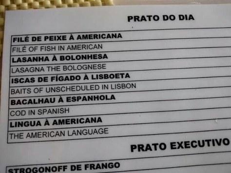 Tradução ruim V