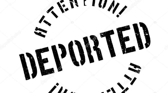 Número de brasileiros deportados dos EUA aumenta 29% entre 2016 e 2017