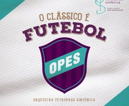 Orquestra Petrobras Sinfônica lança EP com versões de sucessos nacionais que homenageiam o futebol