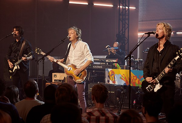Spotify lança show de McCartney em Abbey Road