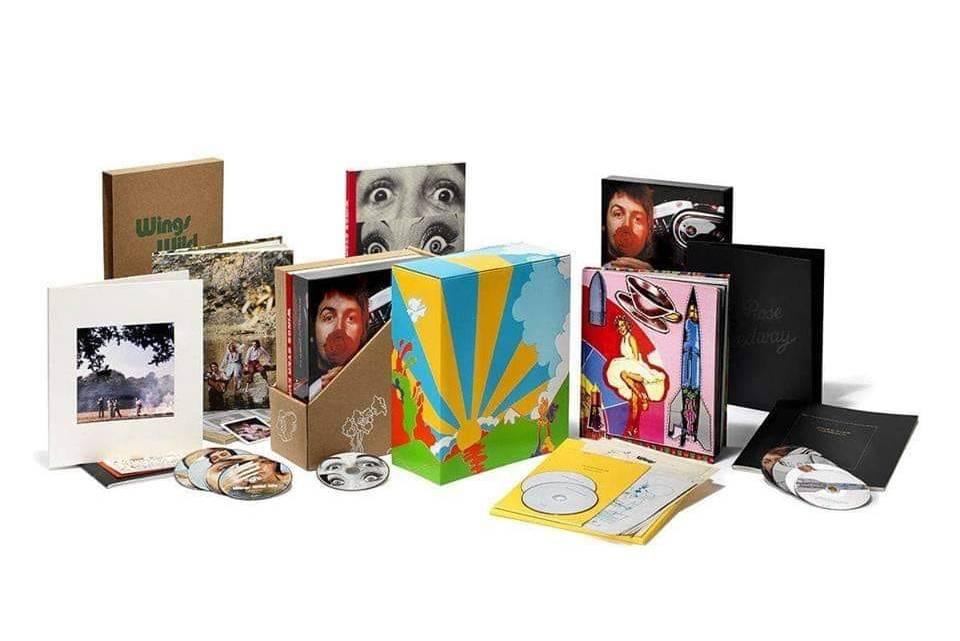 Saiba como são as novas caixas de Paul McCartney