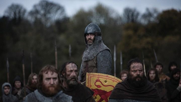Netflix UK 'rebrands' para o lançamento de 'Outlaw King'