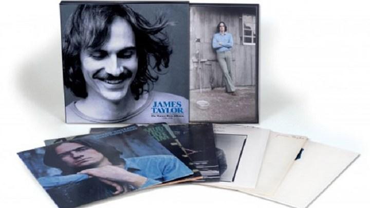James Taylor tem discos clássicos relançados em caixas de CD e vinil