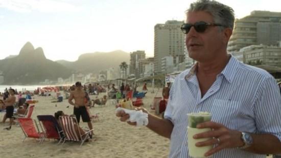 Anthony Bourdain in Rio