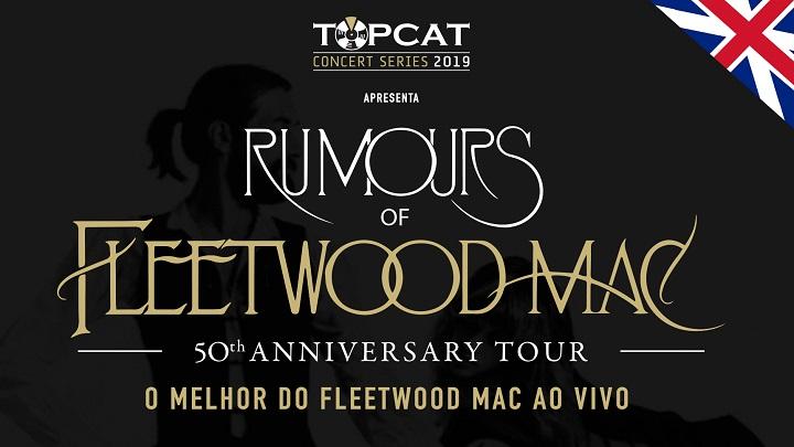 Rumours of Fleetwood Mac desembarca no Brasil em agosto