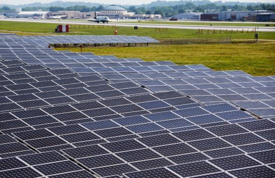 Energia solar sustenta aeroporto nos EUA