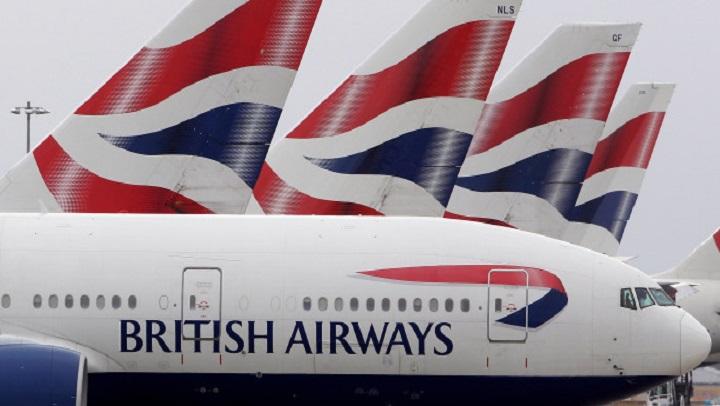 Pilotos da British farão greve em três dias de setembro