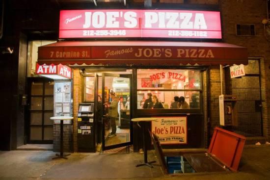Pizza em NY