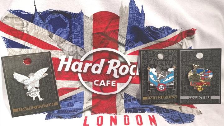 Londres ganha mais uma filial do Hard Rock Cafe
