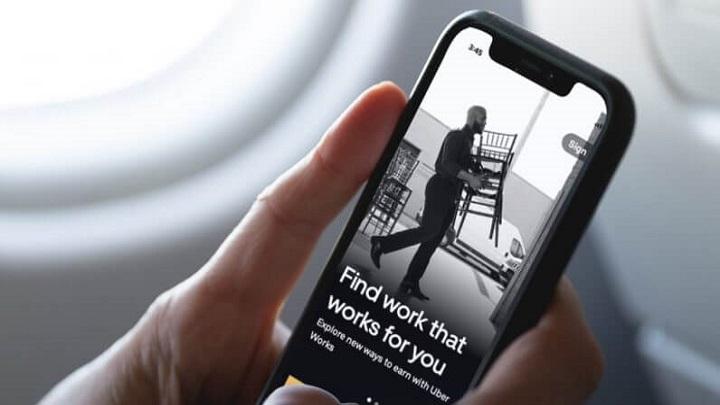 Uber testa app de procura de empregos