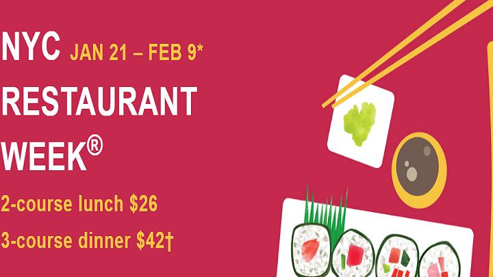 Prepare-se para a NYC Restaurant Week
