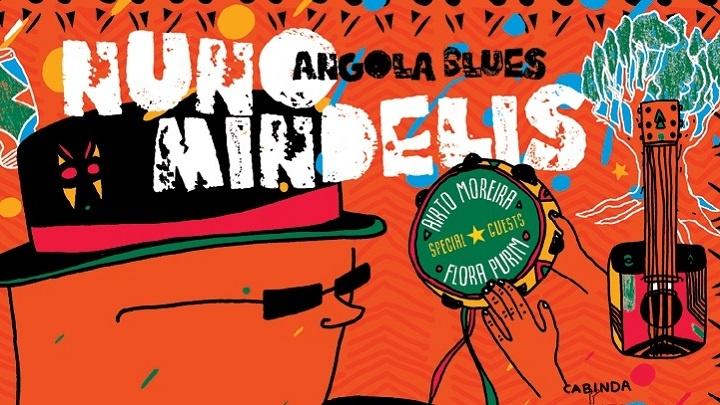 Guitarrista angolano lança álbum de blues com participações de Flora Purim e Airto Moreira