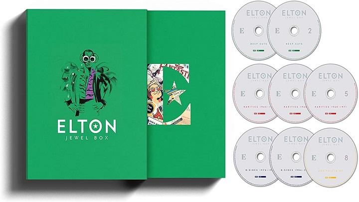 Elton John abre a sua caixa de joias e raridades