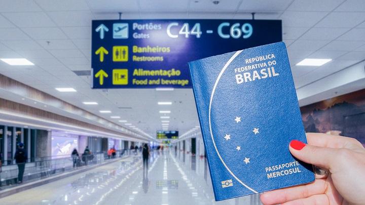 Atualize a lista de países que aceitam a entrada de brasileiros