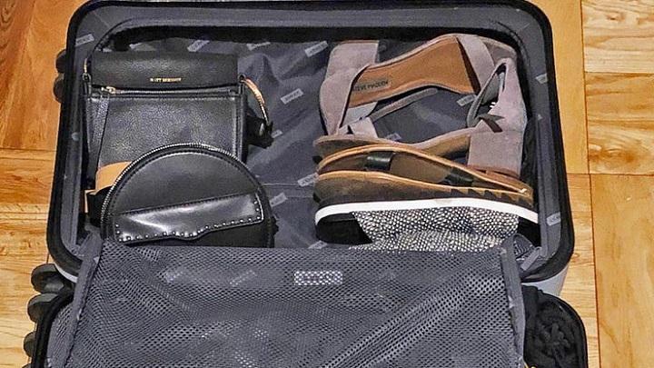 Dica de Viagem: não misture sapatos sujos com roupas limpas