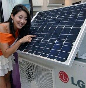 LG solar ar condicionado
