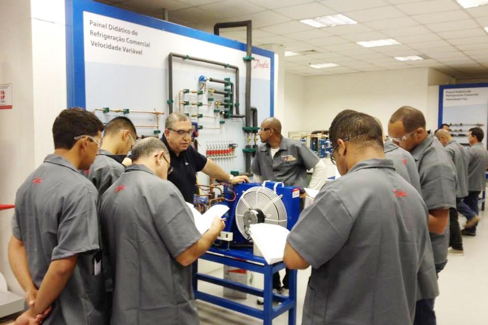Danfoss divulga calendário de cursos de refrigeração aplicada