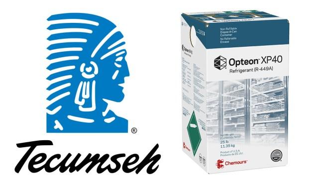 Tecumseh aprova gases da linha Opteon