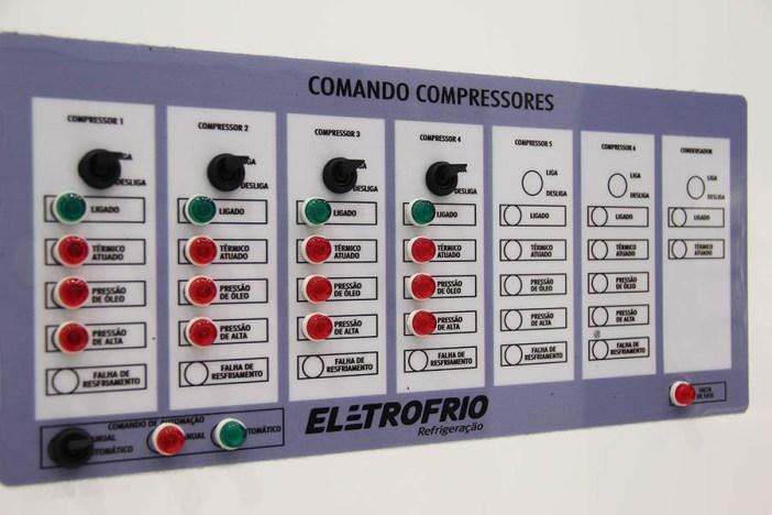 racks de compressores