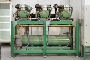 rack de compressores