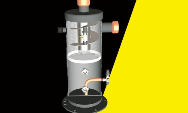 Oil pack separa óleo do fluido refrigerante com 95% de eficiência