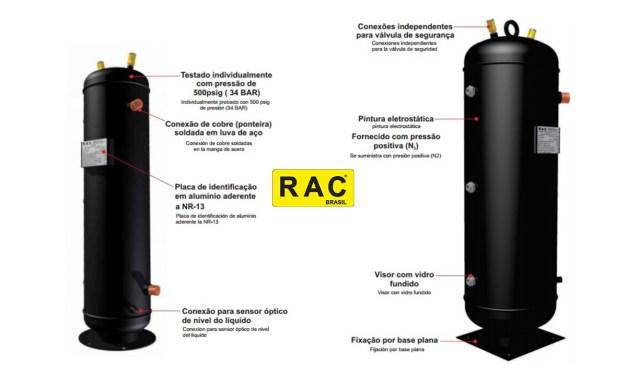Tanque de líquido vertical atende requisitos da NR-13
