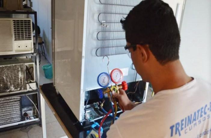 Curso Profissionalizante de Refrigeração e Ar Condicionado - Treinatec-BH